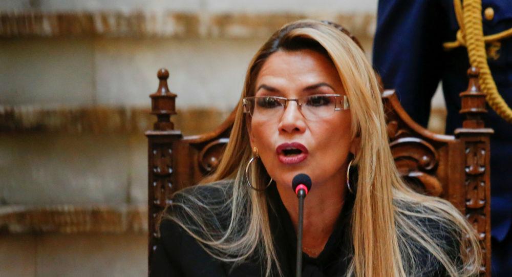 Jeanine Áñez, la presidenta de facto de Bolivia