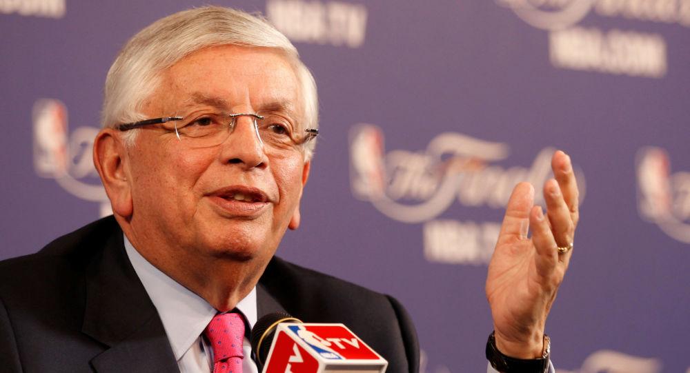 David Stern, excomisionado de la NBA
