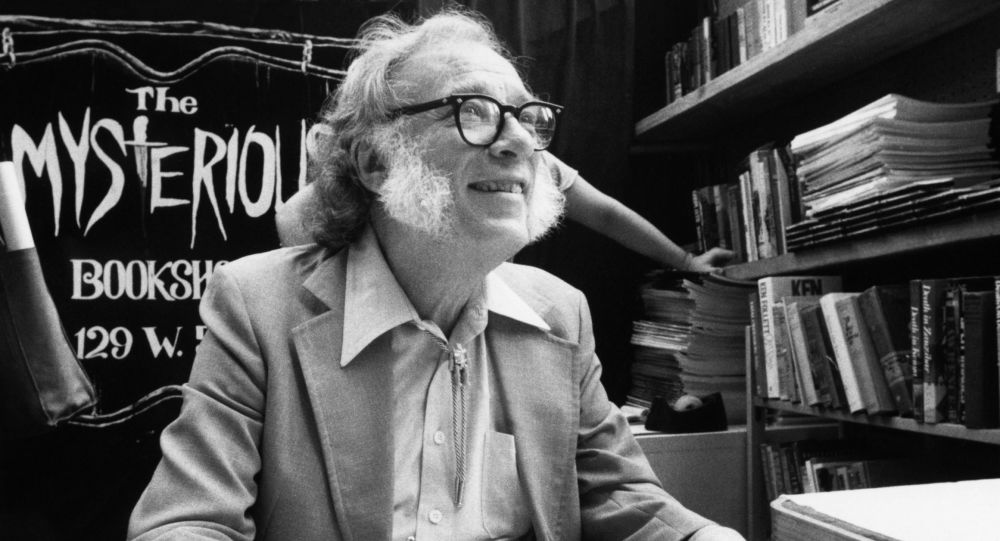 Isaac Asimov, escritor y científico estadounidense