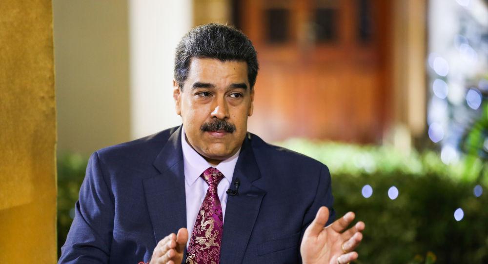 Entrevista al presidente de Venezuela, Nicolás Maduro, en Miraflores