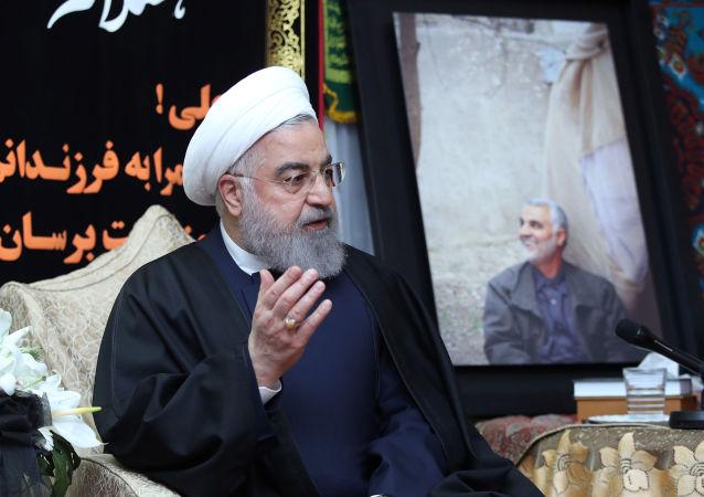 Hasán Rohaní, el presidente de Irán