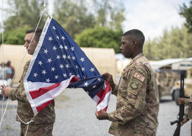 Soldados de EEUU en una base militar en Kenia (archivo)