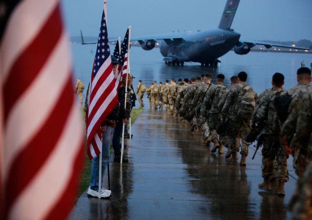 Tropas de EEUU en Irak