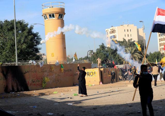 Ataques contra la Embajada de EEUU en Irak