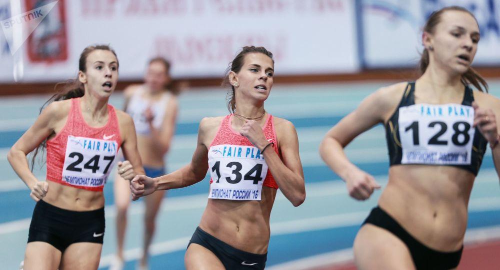 Las competiciones del atletismo entre mujeres (imagen referencial)