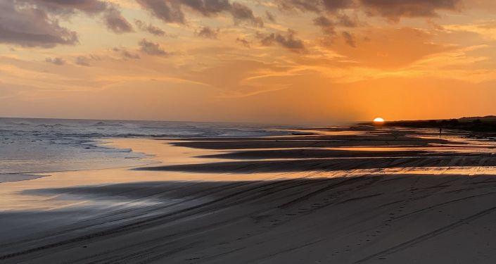 Atardecer en Cabo Polonio, Rocha, Uruguay