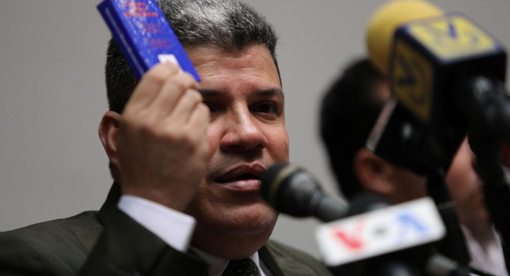 Luis Parra, presidente de la Asamblea Nacional de Venezuela