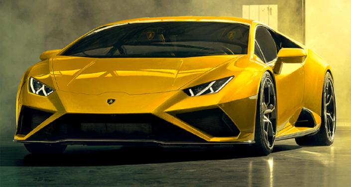 El modelo Huracán EVO RWD de Lamborghini