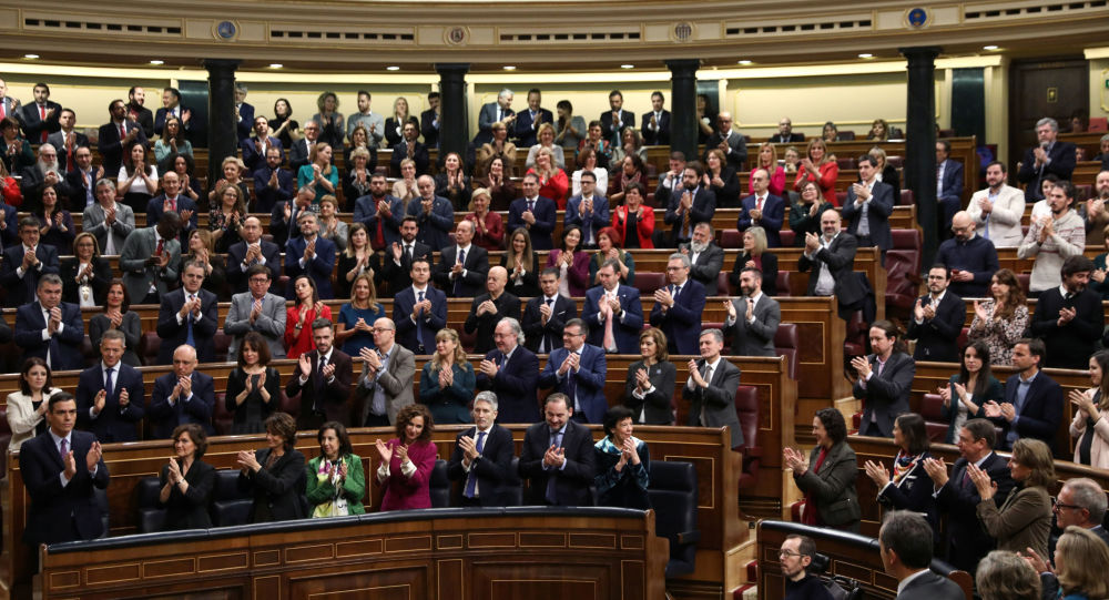 El debate sobre la investidura de Pedro Sánchez en Madrid