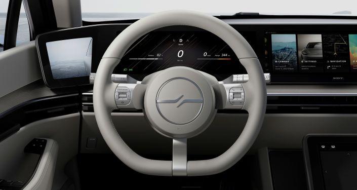 El volante del Vision-S