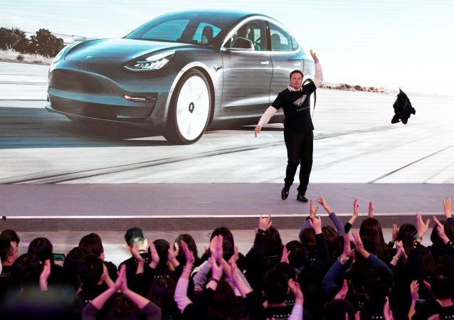 Elon Musk, el Ceo de Tesla
