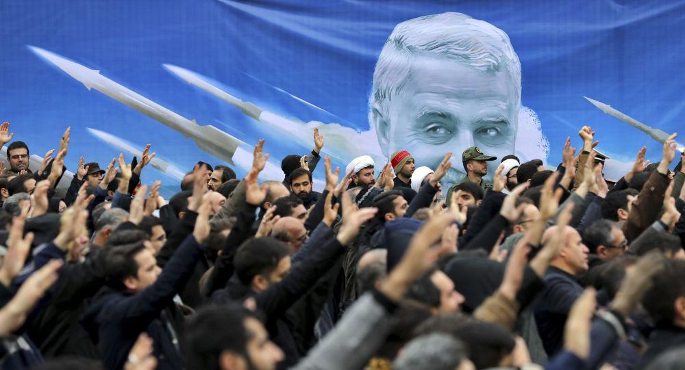 Una protesta en Irán contra el asesinato del general Soleimani