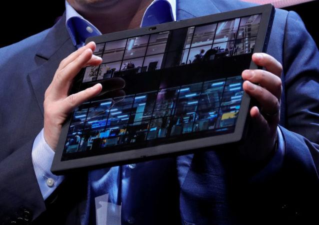 Lenovo presenta el ordenador plegable ThinkPad X1 Fold en CES 2020