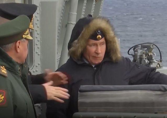 Lanzamientos de misiles Kalibr y Kinzhal en el mar Negro