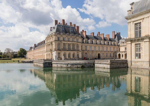 El castillo francés de Fontainebleau