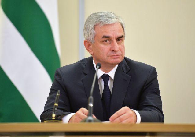 Raúl Jadzhimba, presidente de Abjasia (archivo)