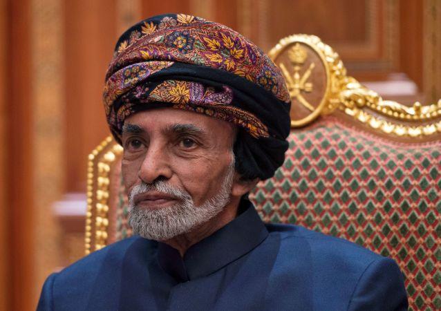 El sultán de Omán Qabús Said