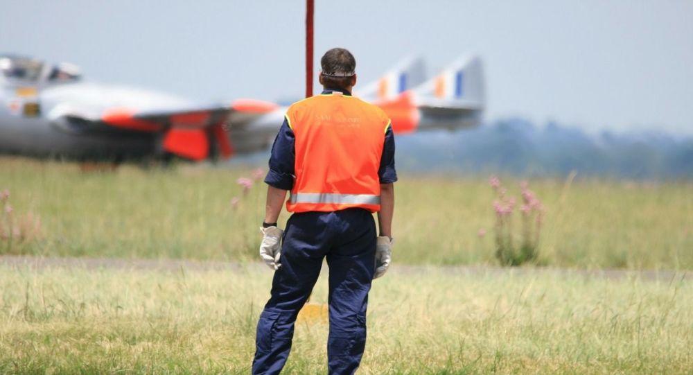 Un controlador de pista (imagen referencial)