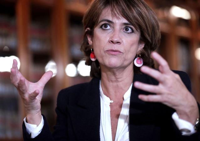 Dolores Delgado, la ministra de Justicia de España