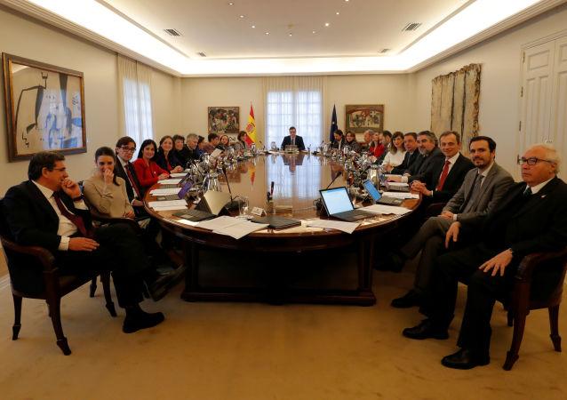 La reunión del Consejo de Ministros de España