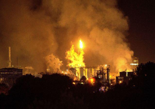 Explosión en la planta petroquímica en Tarragona
