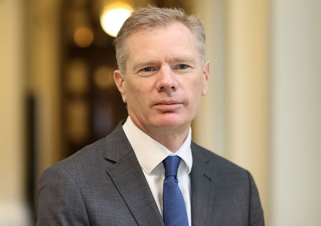 Rob Macaire, el embajador del Reino Unido en Teherán