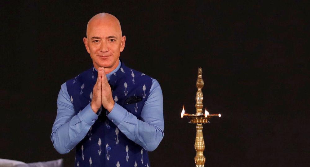 Jeff Bezos, propietario de Amazon