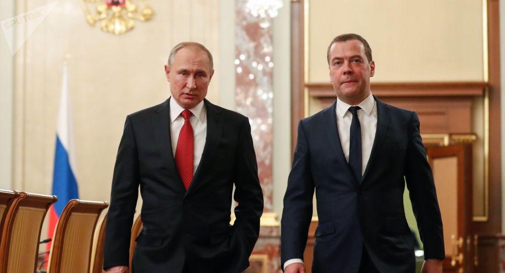 Renunció todo el gabinete ruso, incluido el primer ministro