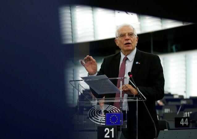 Josep Borrell, el jefe del Servicio de Acción Exterior de la UE