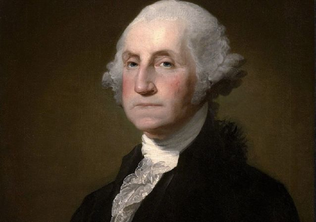George Washington, primer presidente de los Estados Unidos entre 1789 y 1797