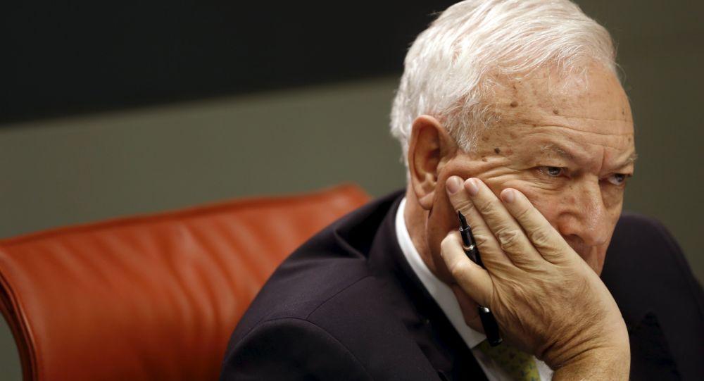 José Manuel García-Margallo, el ministro de Asuntos Exteriores de España