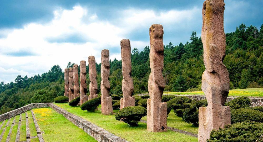 Arquitectura prehispánica en México (imagen referencial)