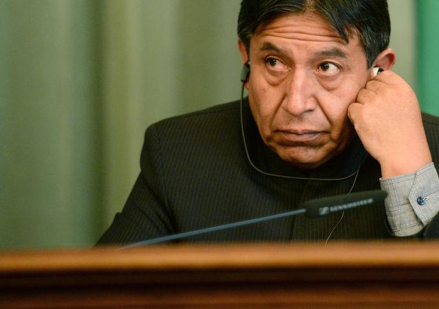 David Choquehuanca, excanciller y líder indígena boliviano (archivo)