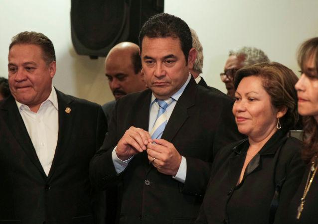 Jimmy Morales, el expresidente de Guatemala