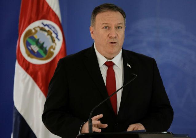 Mike Pompeo, secretario de Estado de EEUU, en Costa Rica