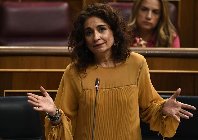 María Jesús Montero, ministra española de Hacienda