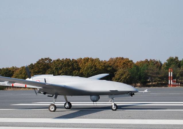 Un dron turco (imagen referencial)