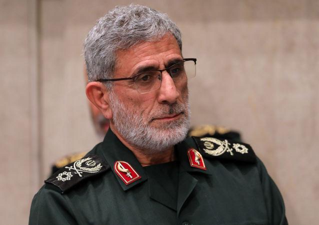 Esmail Qaani, nuevo comandante de la Fuerza Quds del Cuerpo de los Guardianes de la Revolución de Irán
