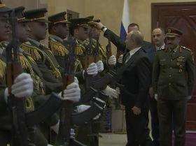 Putin ayuda a un militar en apuros en Palestina