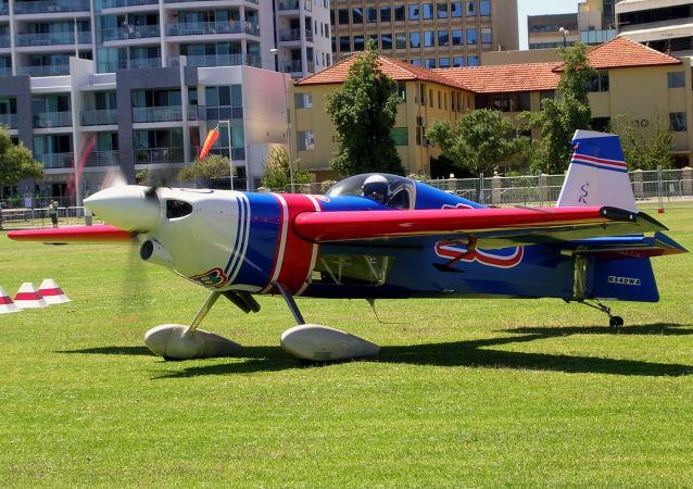 Una avioneta de Redbull Zivko Edge 540 (imagen referencial)