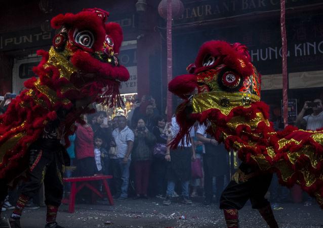 La celebración del Año Nuevo chino en México