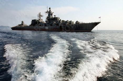 Flota rusa del Pacífico realiza maniobras en el Mar del Japón