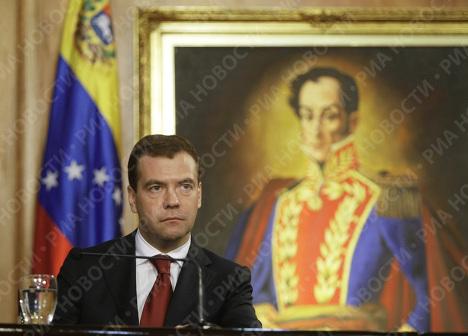 Dmitri Medvédev en América Latina