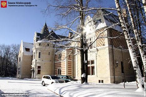 Castillo de Meiendorf, residencia para invitados del Kremlin
