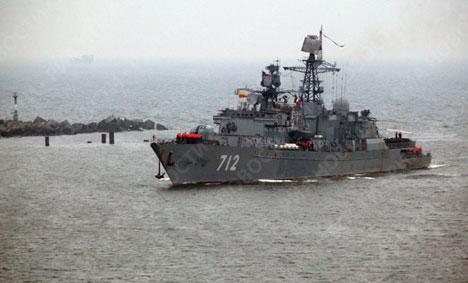 """El patrullero ruso """"Neustrashimi"""" retorna al puerto de matrícula"""