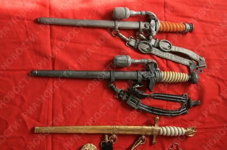 Colección de armas de la segunda guerra mundial