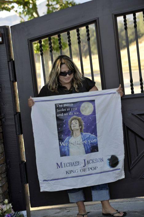 Gran conmoción. Los admiradores de Michael Jackson lloran a su ídolo
