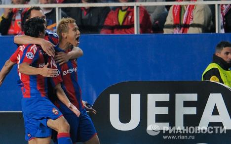 El CSKA hace historia al pasar a los cuartos de la Champions