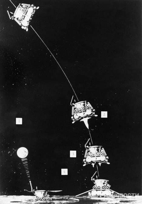 """El Lunokhod-2 soviético antes de """"desaparecer"""" hace 37 años"""