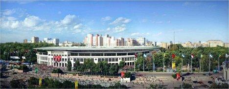 Макет стадиона Динамо для проведения ЧМ-2018/2022 по футболу, Москва